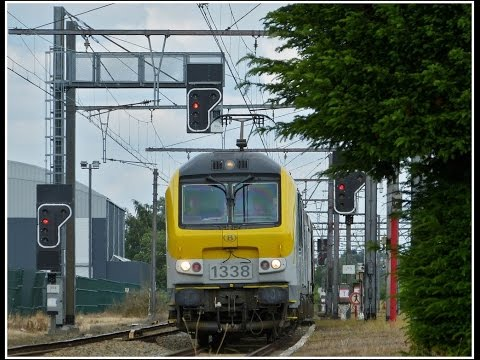 Freight Train Timelapse From Liege To Hasselt
