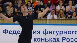 Дмитрий Алиев Произвольная программа Предсезонные контрольные прокаты по фигурному катанию