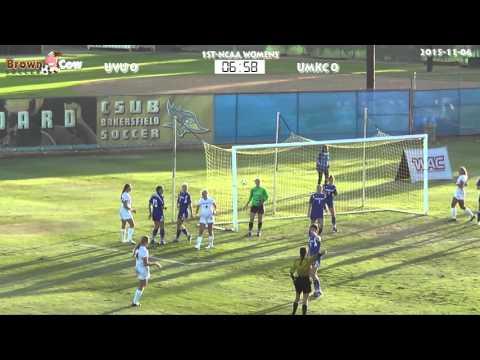 20151106 NCAA Womens Soccer   Utah Valley U v UMKC 1st Half