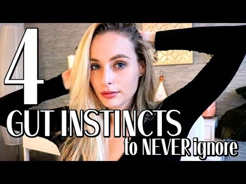 4 GUT INSTINCTS TO NEVER IGNORE | Trust Your Subconscious // Simply Ney