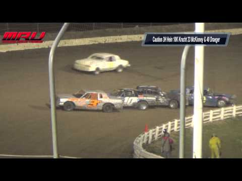 Hobby Stock A Main Night #2 at Cornhusker Classic at I-80 Speedway on October 12th