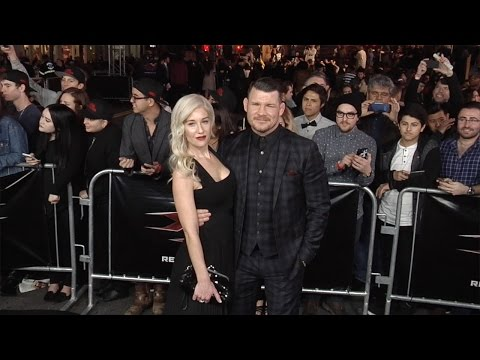 "Michael Bisping and Rebecca Bisping ""xXx: Return of Xander Cage"" Los Angeles Premiere"