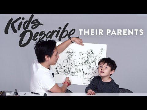 Kids Describe Their Parents | Kids Describe | HiHo Kids