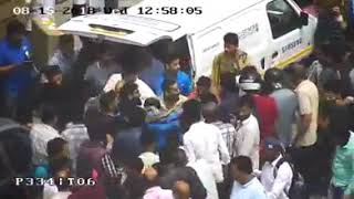 Video:::Police release CCTV footage regarding today's incident at Ganta Ghar Lalchowk