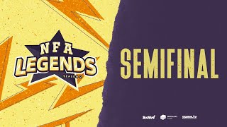 FREE FIRE - NFA LEGENDS SEASON 2 DIA 13 - SEMIFINAL - #NFALEGENDS