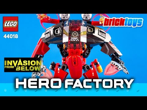 Review LEGO Furno Jet Machine 44018, ミニフィグ LEGO 44018 Hero Factory [Brick Toys]