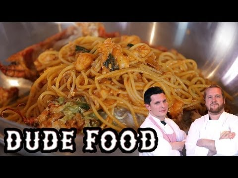 Ultimate Lobster Spaghetti - Dude Food