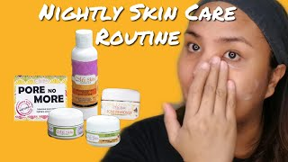 Vlog #17: My Quick Nightly Skin Care Routine  (products used in description box)