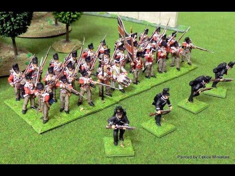 19 Anglais période empire Peindre des figurines Eskice Miniature