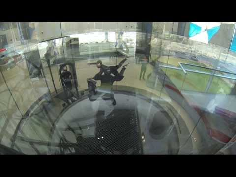 Dubai Wind Tunnel - AFF Training with Andy Goodall and Jane Oakley