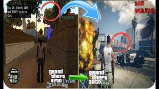 Como Convertir GTA San Andreas En GTA V 2017