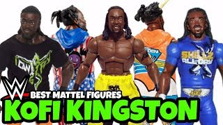BEST Kofi Kingston WWE Action Figures From Mattel