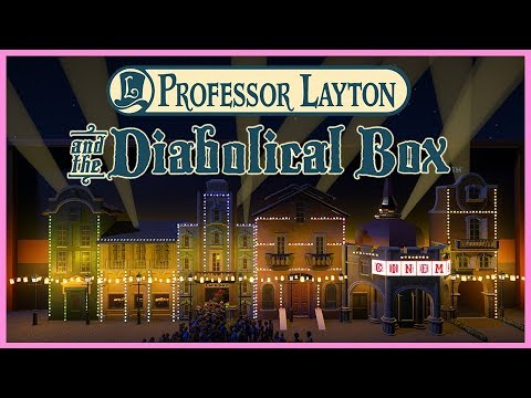 Professor Layton and the diabolical Box! Ride Spotlight 67 | Contest Entry #PlanetCoaster