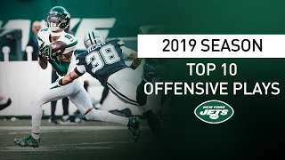 Top 10 Offensive Plays of the 2019 Season | New York Jets | NFL