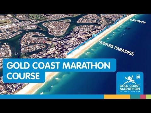 2018 Gold Coast Marathon Course
