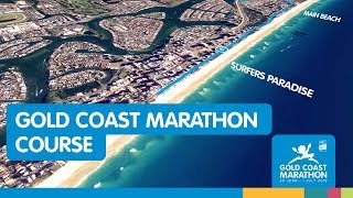 2018 Gold Coast Marathon Course