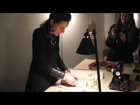 Claudine Lachaud, costumière. Voyage de Marie-Ange Guilleminot