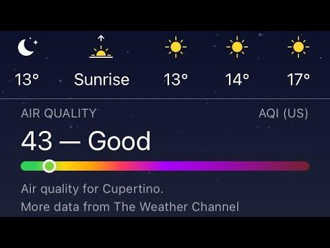 weather app ios 14