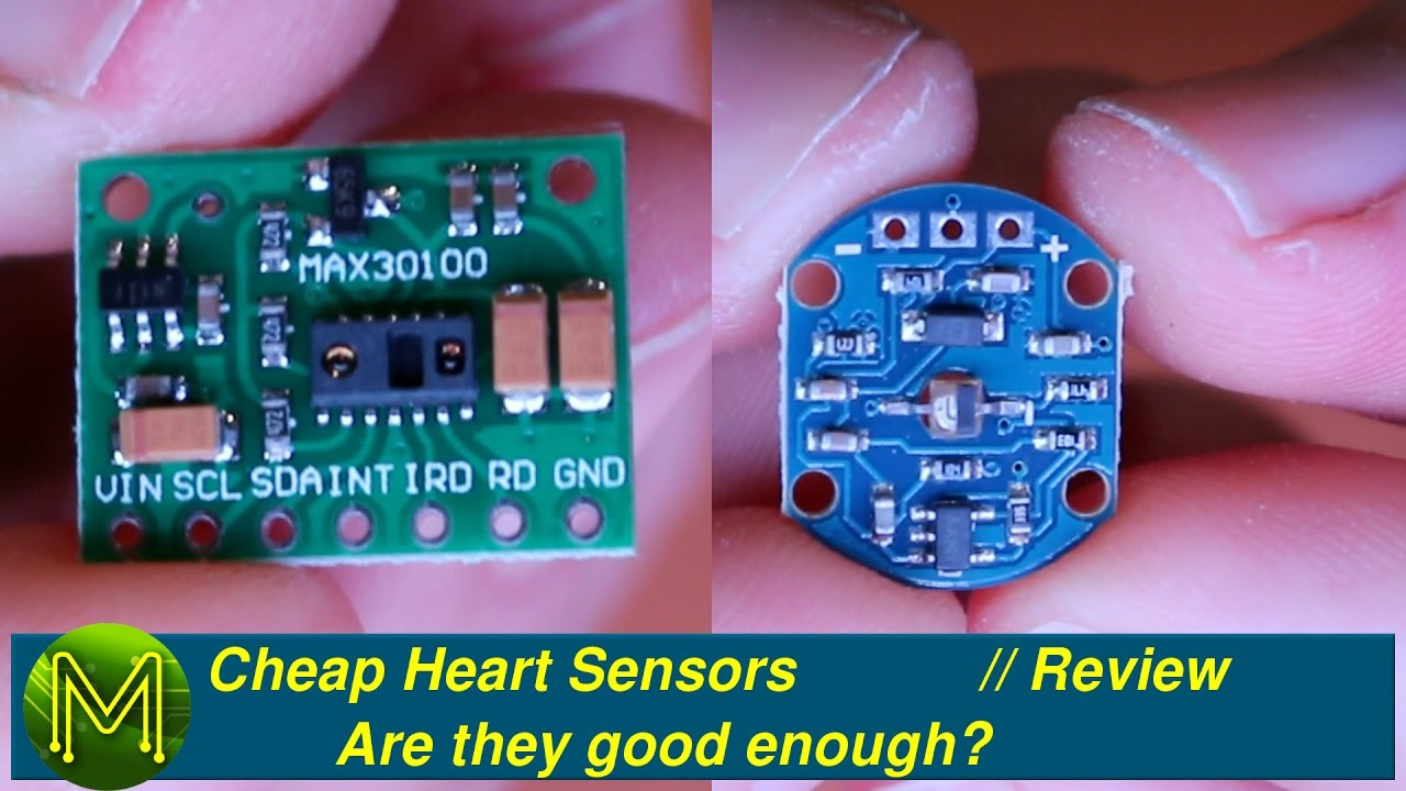 #093 Cheap Heart Sensors: Are they good enough? // Review