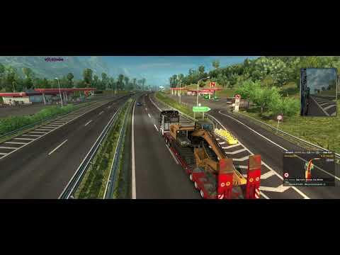 Euro Truck Simulator 2 + Lo-Fi Hip Hop De Genova Até Clermont Ferrand - Scania R730