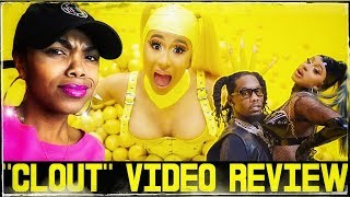 Offset- Clout ft. Cardi B Music Video |Review|