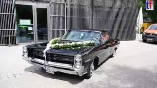 Pontiac Catalina Wedding Car w. Escort / Hochzeitsauto mit Escorte, 2014.