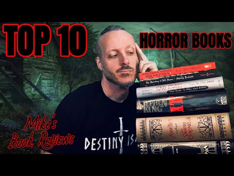 My Top 10 Horror Books of All Time