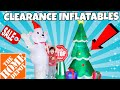 Huge Christmas Inflatable Clearance Home Depot Online Shopping 2019