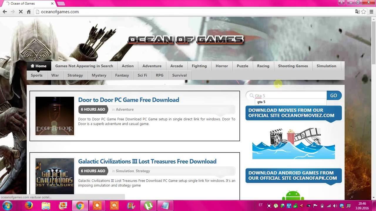gta 5 game download winrar