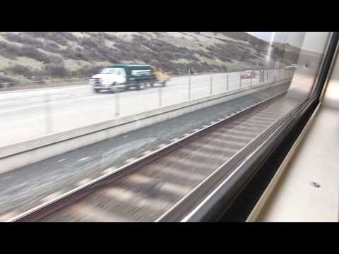 BART Train Ride from Lafayette to Pittsburg Bay Point 1-10-18