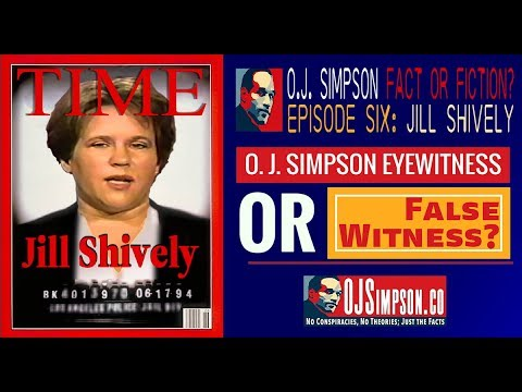 O.J. Simpson: Fact or Fiction? Episode 6: Jill Shively