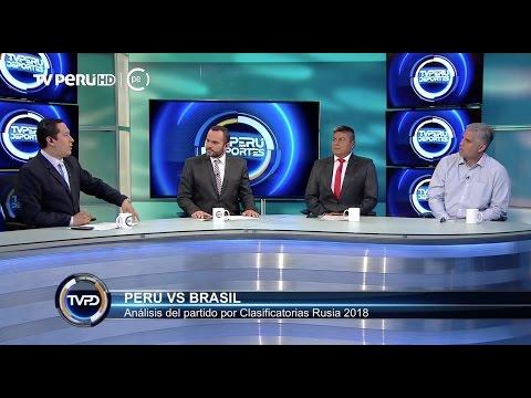 TVPERU DEPORTES -¿Cómo ataca y defiende Brasil? Analizando al rival de Perú - 13/11/2016