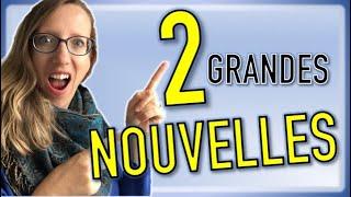 🇨🇵💗🇩🇪 DEUX grandes nouveautés FRANCO-ALLEMANDES !