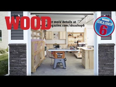 Build A Shop On A Budget: Idea Shop 6 - $150 x 26 Paychecks - WOOD magazine