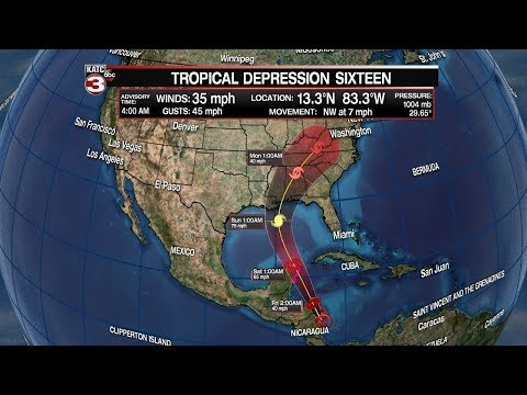 Daniel's Thrusday 5 a.m. Tropical Weather Update