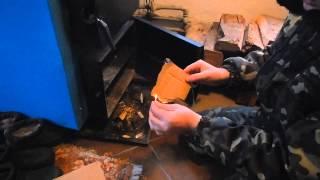 Заводской Котел длительного горения на 25 КВТ! Отзыв!(Как и большинство Украинцев, я поддался влиянию телевизора, и на всякий пожарный приобрел себе котел длител..., 2015-01-31T13:34:43.000Z)