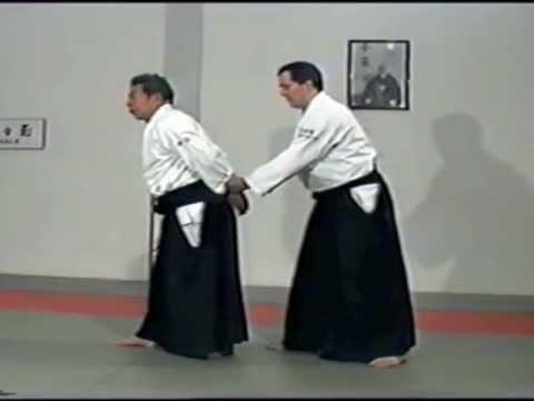 Morihiro Saito Sensei. Ushiro Ryote Dori