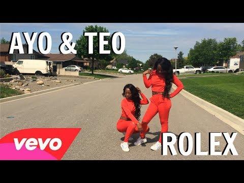 ROLEX - Ayo & Teo Dance Challenge Twin...