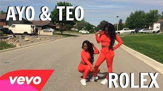 ROLEX - Ayo & Teo Dance Challenge Twin Version #RolexChallenge