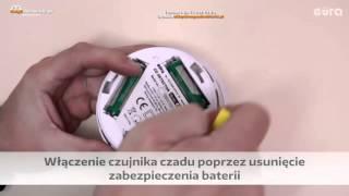 Jak zamontować czujnik detektor czadu?