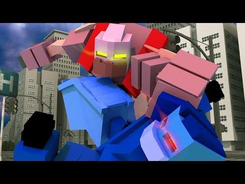 Minecraft | TRANSFORMERS MOD! (Decepticons, Autobots, Cybertron)
