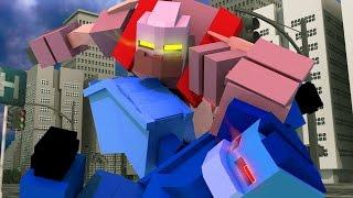 Minecraft   TRANSFORMERS MOD! (Decepticons, Autobots, Cybertron)