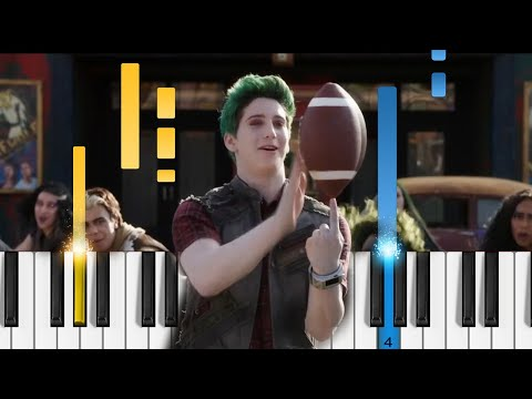 Disney's ZOMBIES 2 – Like the Zombies Do – Piano Tutorial / Piano Cover