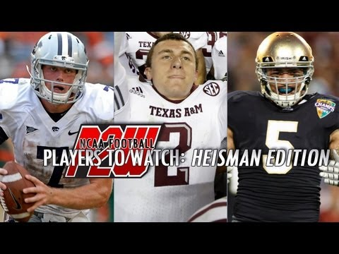 Who should win the Heisman Trophy in 2012? | Collin Klein, Johnny Manziel, Manti Te