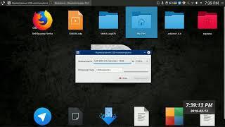 форматированные флешки на Linux mint. Linux mint с нуля . Первый  урок