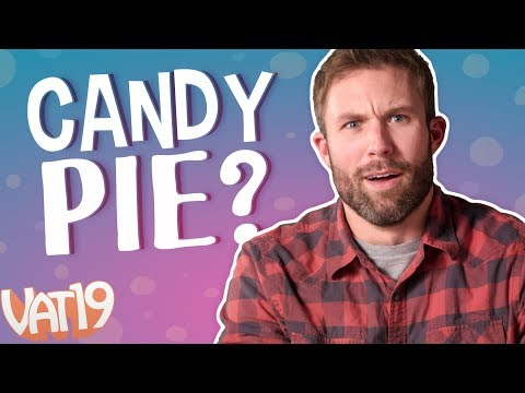 Making crazy desserts with Dippin' Dots Popping Candy!