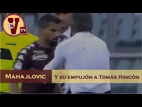 ENTRENADOR del TORINO empujó a TOMAS RINCÓN