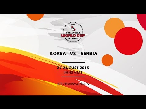 Korea v Serbia - FIVB Volleyball Women's World Cup Japan 2015