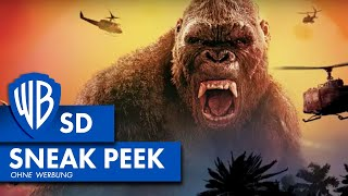 KONG: SKULL ISLAND - 3 Minuten Sneak Peek Deutsch HD German (2017)