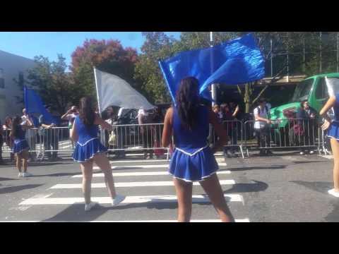 fort Hamilton high school Columbus parade '15 - YouTube